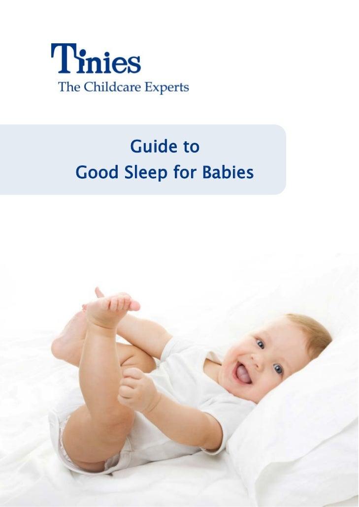 Guide toGood Sleep for Babies