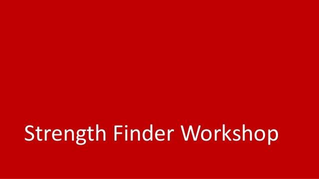 Good to Great strengthfinder workshop for teams