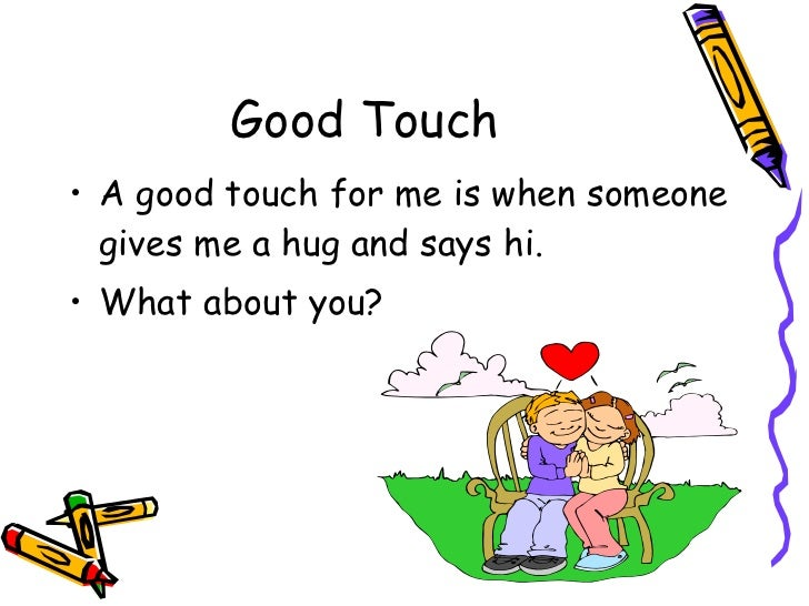 Good touch bad touch ppt