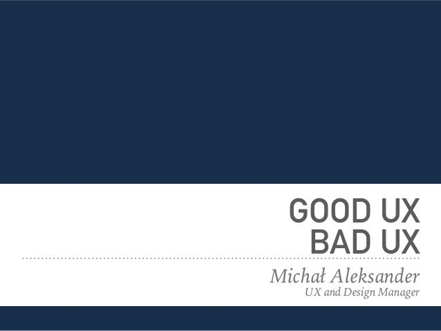 how to become a good ux designer