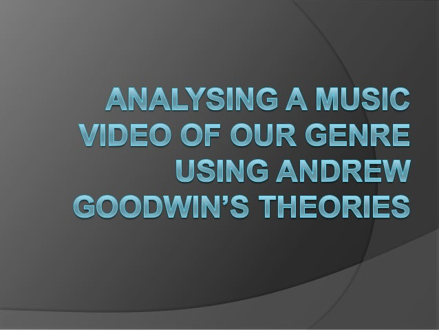 Analysing 30 Seconds to Mars' 'Up In The Air' using Goodwin's Theories