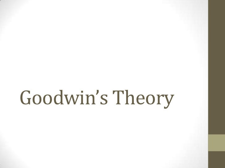 Goodwin's theory
