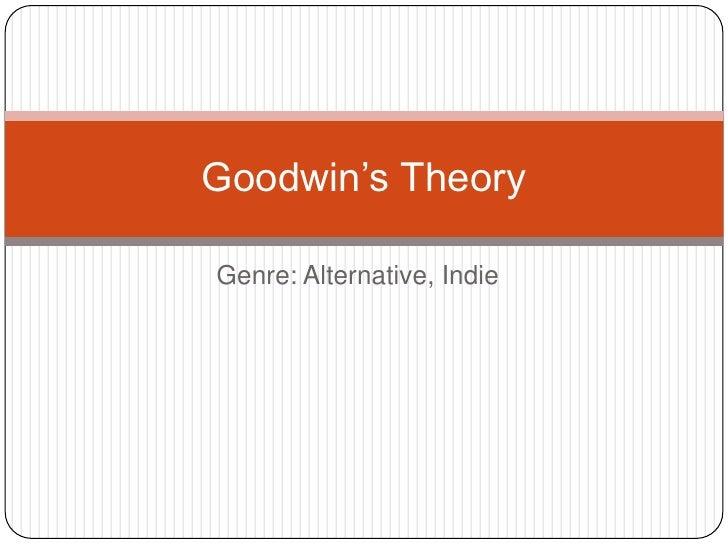 Goodwin's theory indieeee