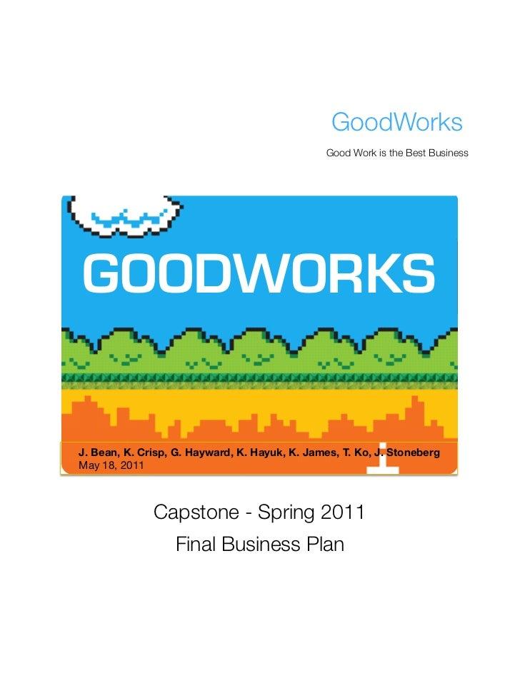 GoodWorks 2011