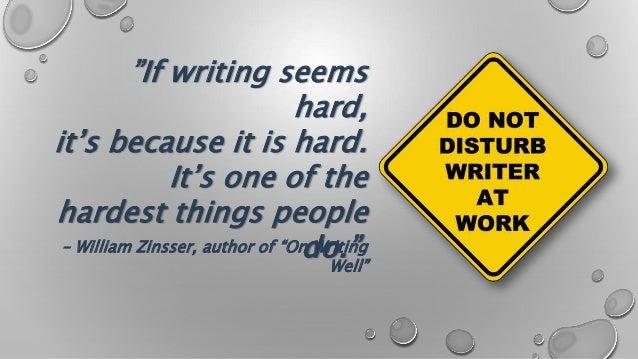 Good writting