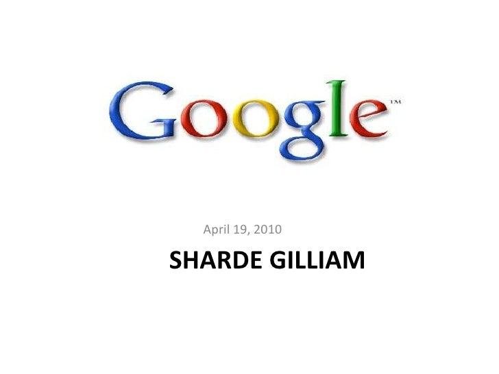 Google Final Project