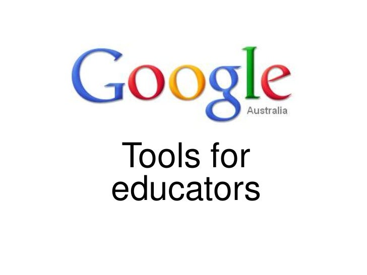 Google tools for educators