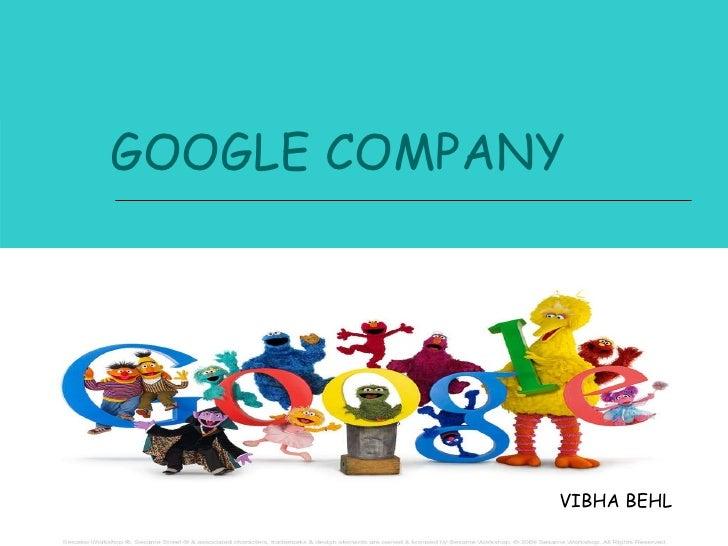GOOGLE COMPANY VIBHA BEHL