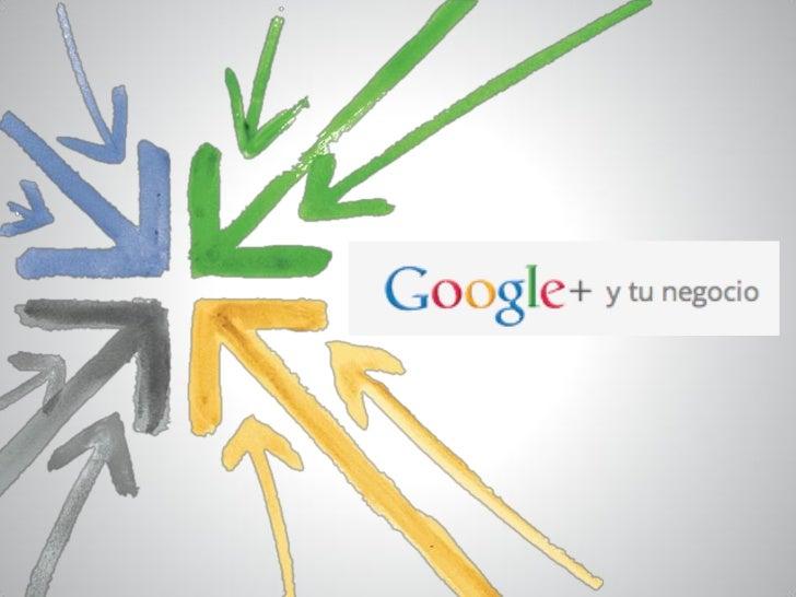 Cómo crear una página en Google+ (manual by Google)