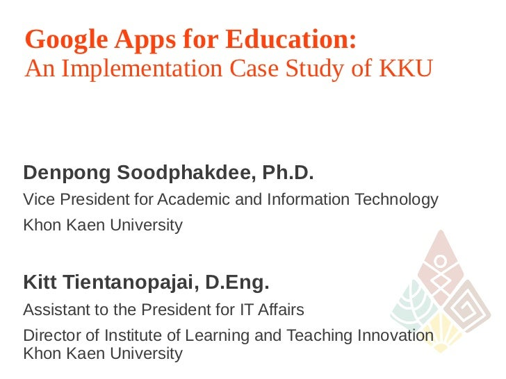 google apps case study pdf