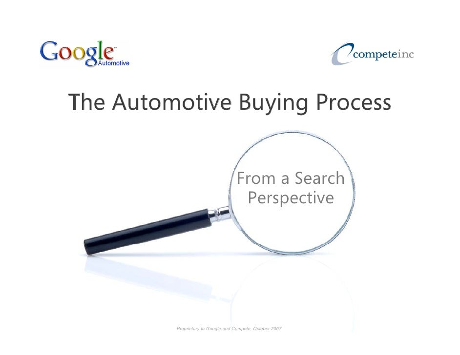 The Automotive Buying Process                  y g                                      From a Search                     ...