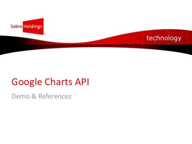 Google Charts API Demo & References