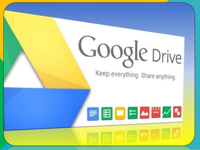 Google Drive es un servicio de almacenamiento de archivos en línea, que fue introducido por Google el 24 de abril de 2012 ...