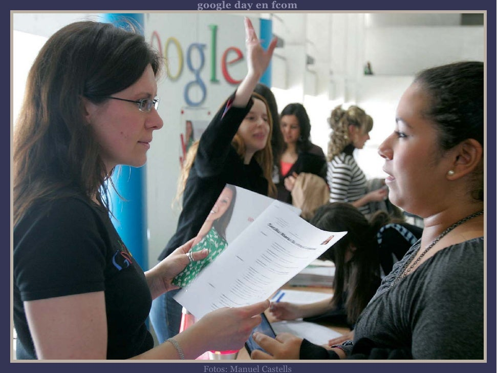 google day en fcom      Fotos: Manuel Castells