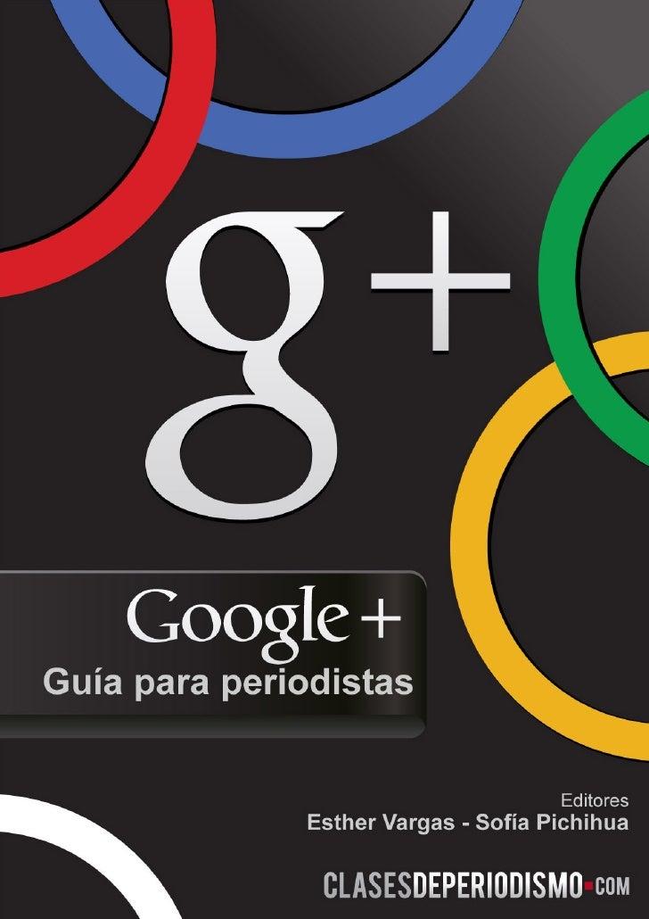Google + Guia para periodistas
