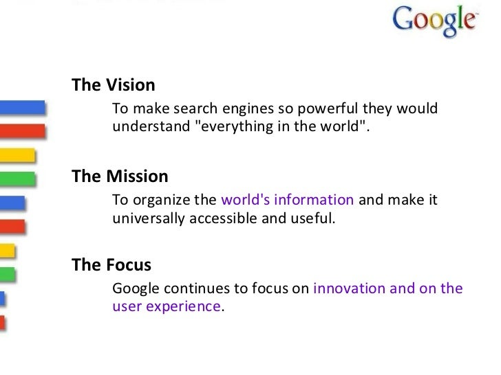 google s mission statements essay