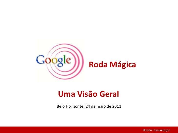 Roda Mágica<br />Uma Visão Geral<br />Belo Horizonte, 24 de maio de 2011 <br />Movida Comunicação<br />