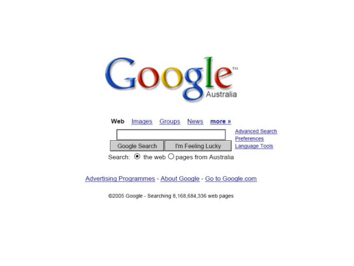 Google & the Information Industry