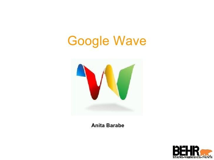 Google Wave Introduction