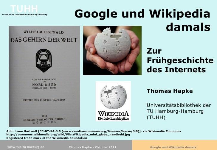 TUHHTechnische Universität Hamburg-Harburg                                            Google und Wikipedia                ...