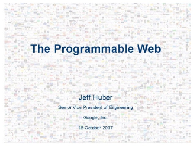 The Programmable Web