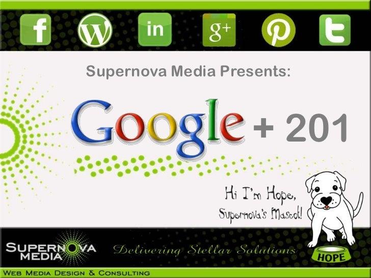 Google+ 201 Guide