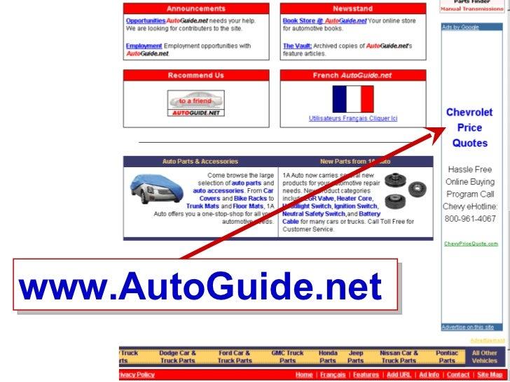 Google Advertising Network Car Dealer Examples