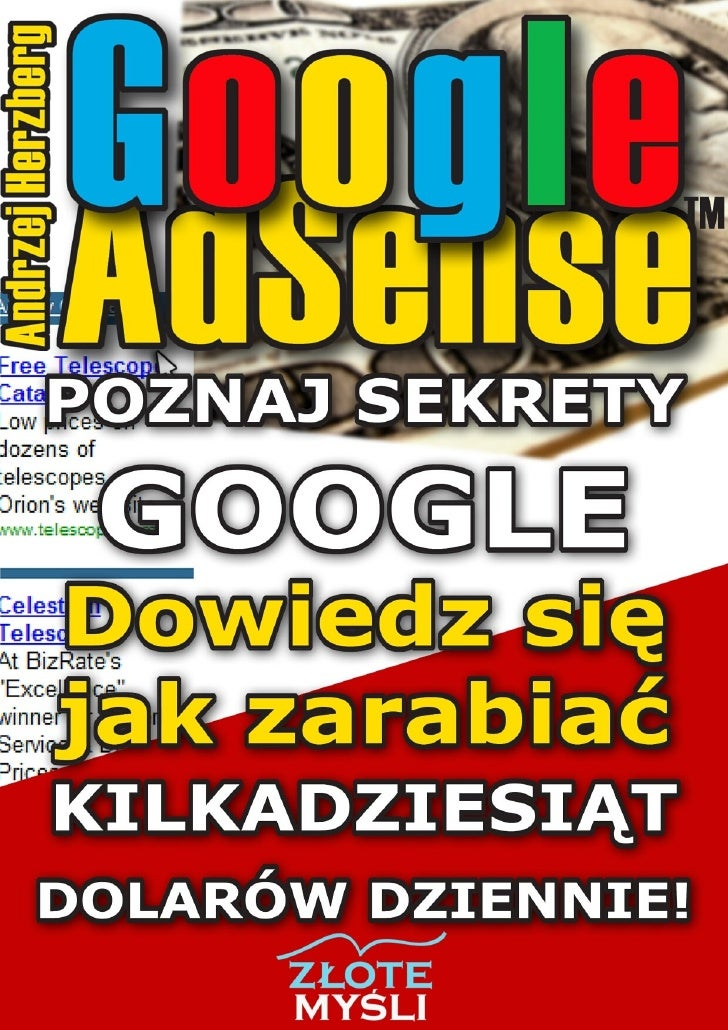 Andrzej Herzberg - Google AdSense pobierz darmowy ebook pdf