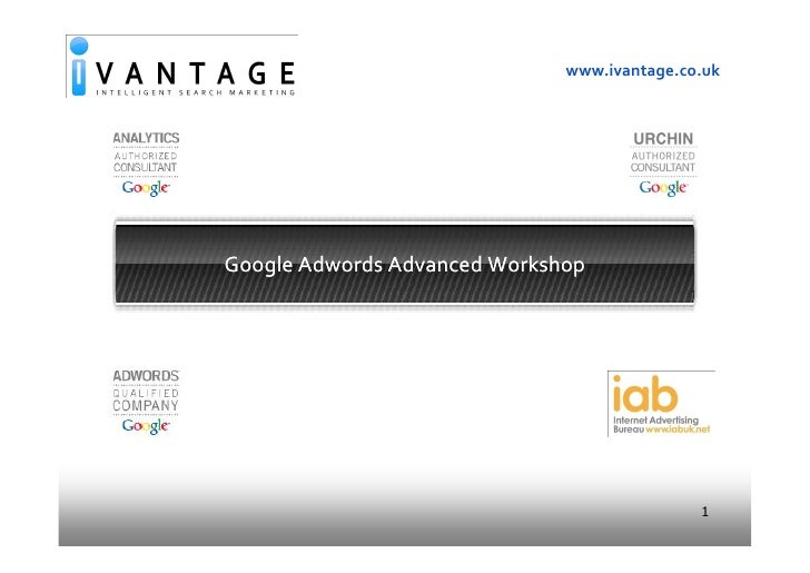 Google Adwords Advanced Training