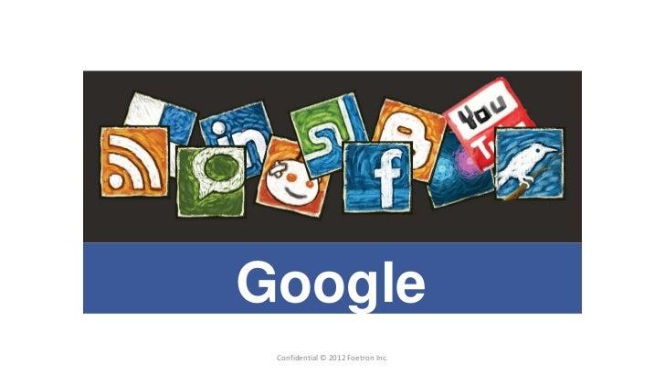 GoogleAdWords   Confidential © 2012 Foetron Inc.