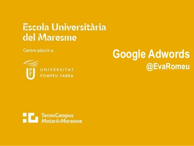 Google Adwords @EvaRomeu