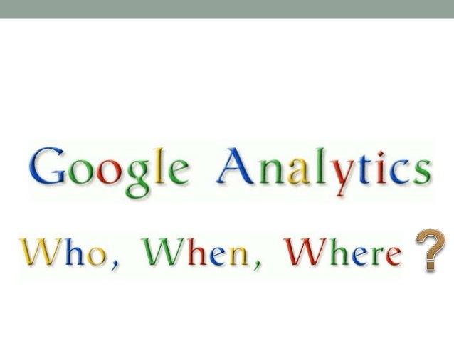 Google Analytics The Basics