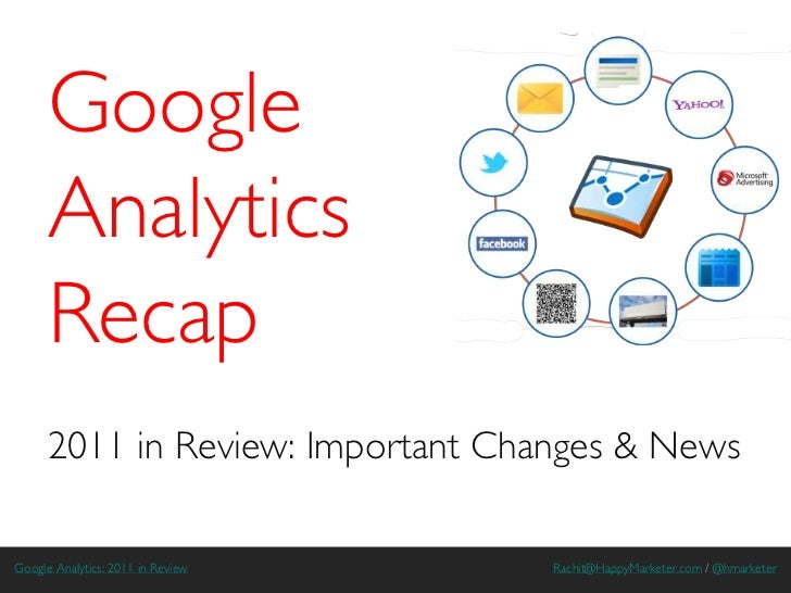 Google      Analytics      Recap      2011 in Review: Important Changes & NewsGoogle Analytics: 2011 in Review   Rachit@Ha...