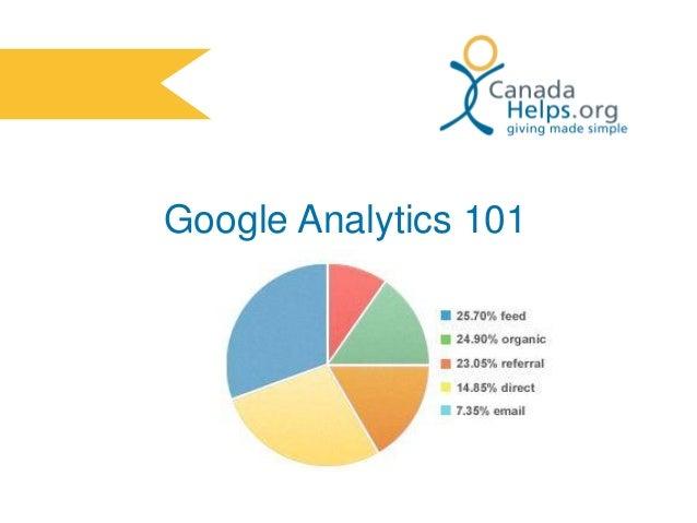 Google Analytics 101 Charity Training Webinar Slides