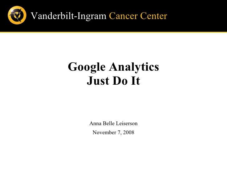 Google Analytics Intro for TCPRA
