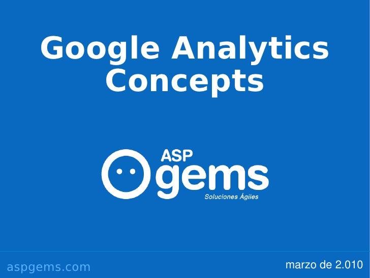 Google Analytics Concepts