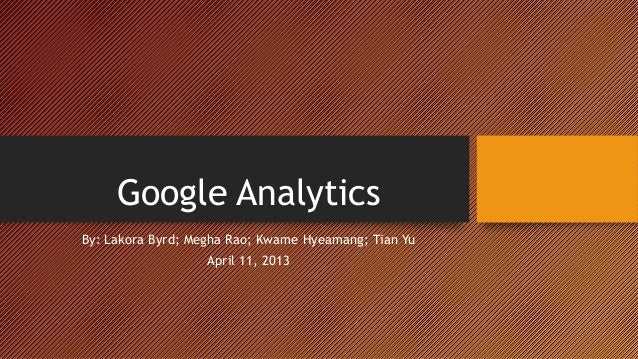 Google analytics Review