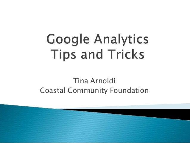 Google Analytics - Charleston WordPress user group