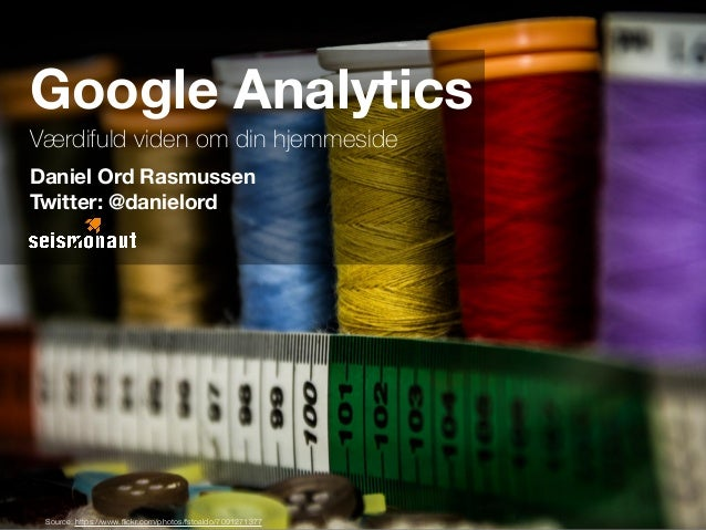 Google Analytics Guide for Begyndere