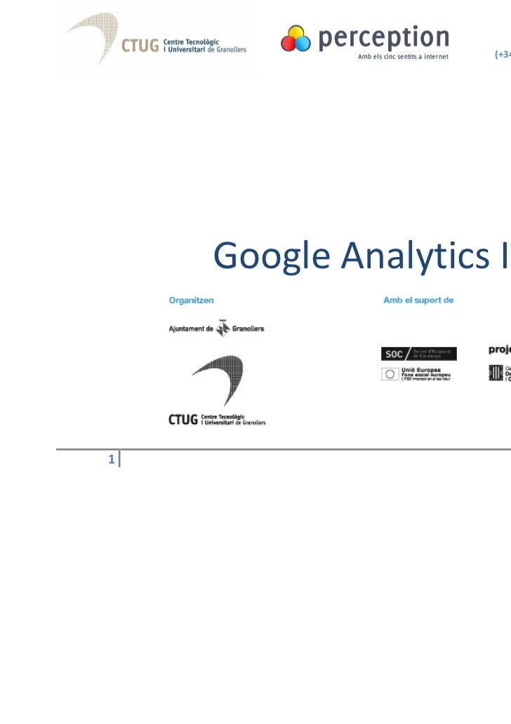 Google Analytics I
