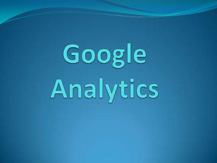Google analytics presentacion