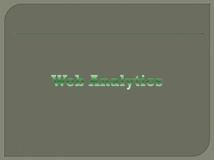 Web Analytics Basics