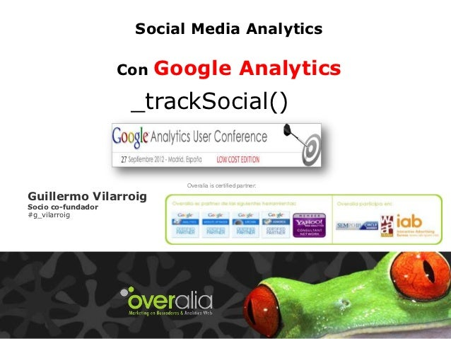 Social Media Analytics                    Con   Google Analytics                     _trackSocial()                       ...