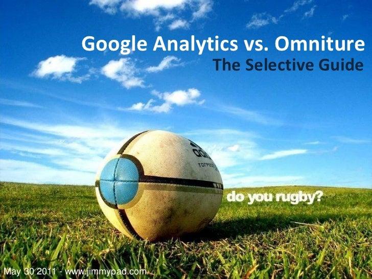 Google Analytics vs. Omniture Comparative Guide