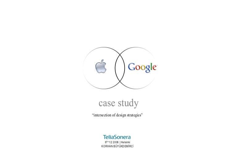 Google & Apple common brand values
