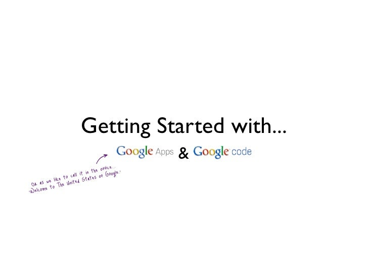 Getting Started with...                                                          &                                in th of...