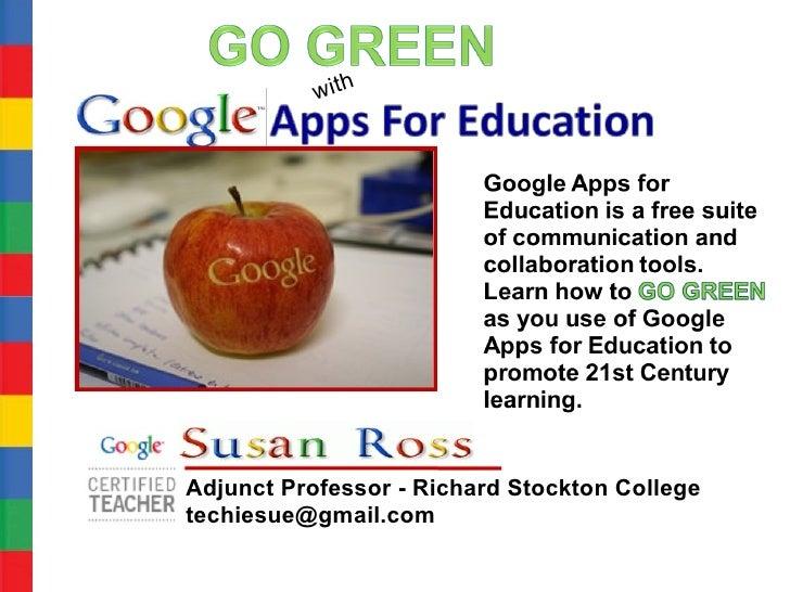 Google apps for_education_go green