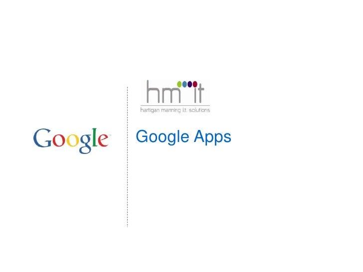 Google Apps<br />