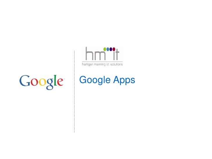 Google Apps Overview
