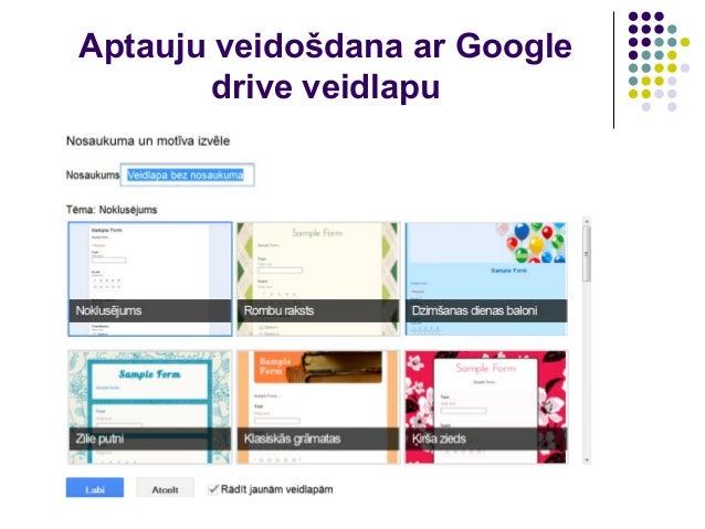 Google aptaujas